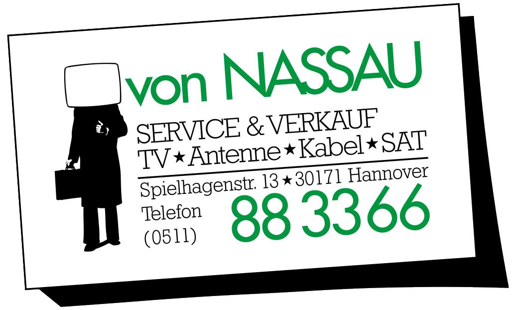 von Nassau Hannover - Service + Verkauf | TV, Antenne, Kabel, SAT